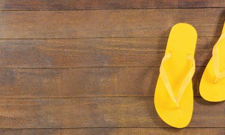 Chanclas amarillas: Cómo fui de tropiezo a la fe de un pequeño