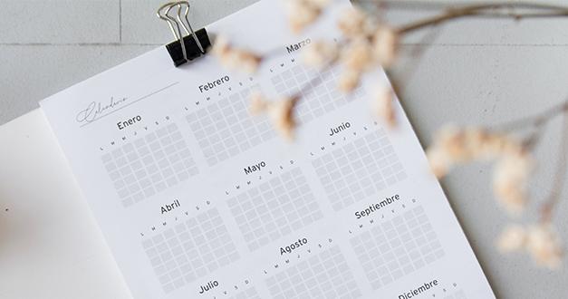 Planeando el calendario de predicación