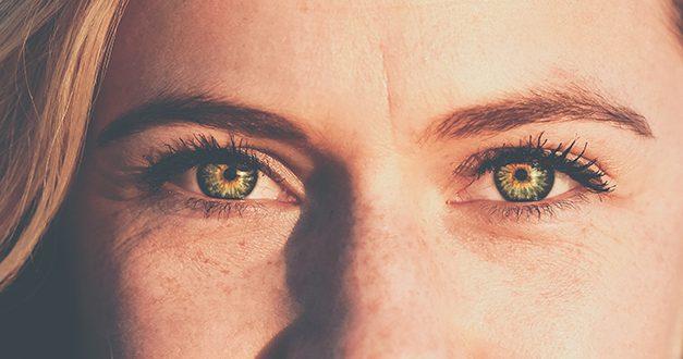 ¿Qué traes en el ojo?