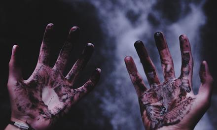Un Dios airado: Cuadros de la salvación